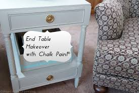 end table makeover with chalk paint decorative paint by annie