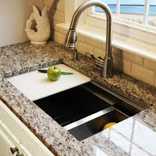 how to clean plastic kitchen sink with drainboard modern kitchen
