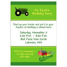 how to create tractor birthday invitations ideas u2014 all invitations