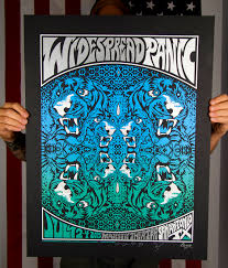 inside the rock poster frame blog joshua levy widespread panic