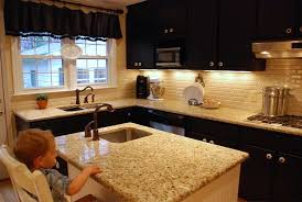 Black Kitchen Cabinets by Dare You To Paint Your Cabinets Black Emily P Freeman