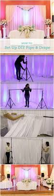 strike a pose photo booths podcast helping build build your own pvc backdrop for the ceremony use it for your