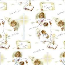 christian wrapping paper value items gifts prayer holy cards pocket coins