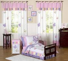 Peppa Pig Toddler Bed Set Pink Purple Butterfly Toddler Comforter Bedding 5pc Bed In
