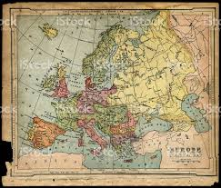 Map Of Europe 1800 by Old 1800s Political Europe Map Stock Photo 157283735 Istock