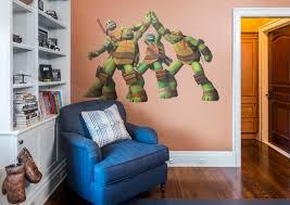Ninja Turtle Wall Decor Teenage Mutant Ninja Turtles High Five Wall Decal Shop Fathead