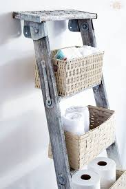 wedding bathroom basket ideas 36 best repurposed old ladder ideas and designs for 2017
