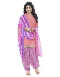 pink colour combination dresses buy surat tex blue pink color printed crepe combo dress material