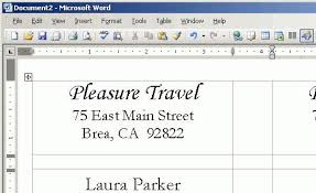 address labels word template word label template 6 free word