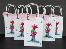 princess candy bags trolls inspired 20pc princess poppy 3d birthday party favor treat