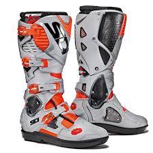 dc motocross boots sidi crossfire 3 srs motocross mx boots red flou ash matt