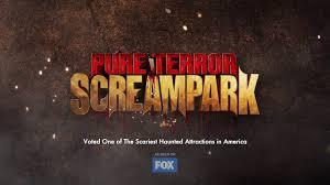 pure terror scream park 2017 haunted houses trailer youtube