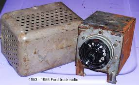 1953 ford truck parts ford truck origianl 1948 to 1950 radio woolcock antique auto parts