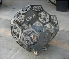 Sphere Fire Pit by Fire Pits And Pokers Knowles Innovative Design