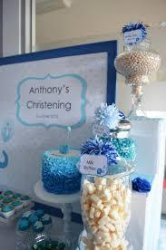 kara u0027s party ideas blue elephant boy christening baptism party