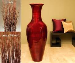 Large Ceramic Vases 47 Tall Mahogany Red Floor Vaselarge Black Vases Uk Large Ceramic