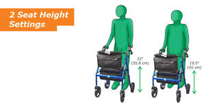 senior walkers with seat hugo elite rolling walker with seat hugo mobility