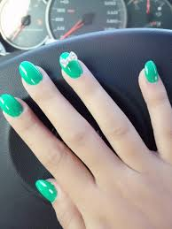 oval nails with a little bow u003c3 don u0027t normally like oval but these