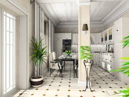 White Kitchen Tile Floor Black And White Kitchen Flooring Morespoons 404456a18d65