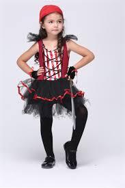 halloween costumes girls kids hood short sleeve costume ball caribbean sea kids pirates girls