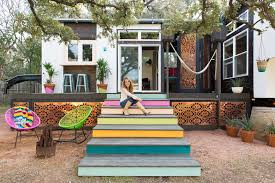 kim lewis partners with cavco on tiny home for dwell cavco