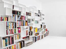 wall decoration photo classy ceiling high bookshelves divine