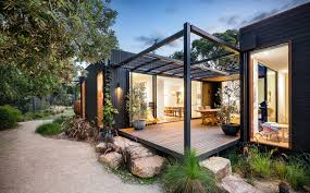 Pergola Post Design by Modular Home Design Prebuilt Residential U2013 Australian Prefab