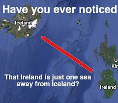 Pun Meme - ireland and iceland pun know your meme