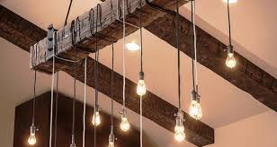 Diy Rustic Chandelier Diy Light Fixtures Creative And Affordable Decorating Items