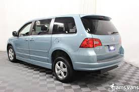 volkswagen minivan routan 2010 volkswagen routan wheelchair van for sale 27 995