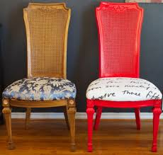 reupholstered dining room chairs latest gallery photo