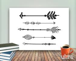 inspirational room decor arrow art printprintable art wall decorinspirational wall