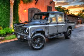 land rover ninety silversnow the landrovers
