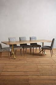 furniture walnut slab dining table bddw home pinterest