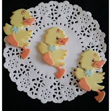 duck decorations yellow ducky baby shower baby ducks corsage figurines yellow