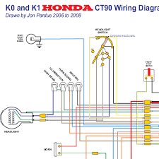 honda 70 wiring diagram honda xr70 parts diagram honda trail 90