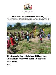 the zambia early childhood education curriculum framework for