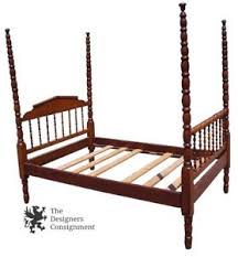 early american antique 4 poster maple full size bed double lillian
