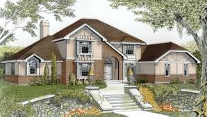 English Style House Plans by English Country Style House Plans Plan 1 186
