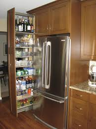 Kitchen Cabinet Sliding Drawers Tremendous Pantry Cabinet Sliding Shelves With Center Mount Drawer