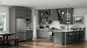 gray walls with stained kitchen cabinets great gray kitchen ideas when redesigning your home aco