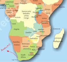 Rwanda Map Rwandan Nights