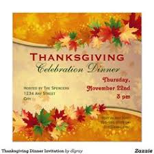 thanksgiving dinner invitation template thanksgiving