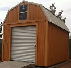 10x20 Garage Wk Custom Lofted Barn Garage With Loft Window Jpg
