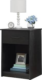 amazon com ameriwood home core night stand black kitchen u0026 dining