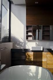 Modern House Furniture Clever Semi Detached House With Elongated Volumes In Singapore