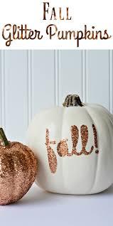 the life of jennifer dawn diy glitter pumpkins for fall
