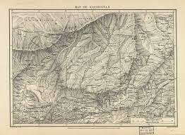 Hindu Kush Map Map Of Kafiristan World Digital Library