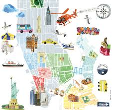 Marin Maps Bonjour New York Bonjour Voyage And City