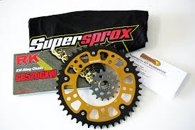 buy used cbr 600 amazon com supersprox stealth 520 chain and sprocket set for